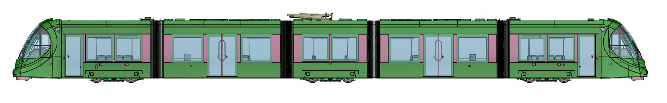 CAF Urbos 3 LRV Unit 014 7